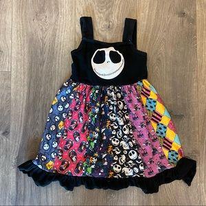 Nightmare Before Christmas Girls Dress Size M